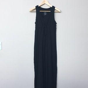 GAP maternity maxi dress, black xs
